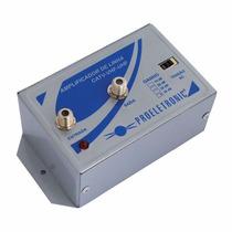 Amplificador De Linha 30db Pqal 3000 Bivolt Proeletronic
