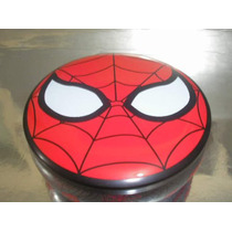 ( L - 270 ) Marvel Lata Homem Aranha + Duas Miniaturas