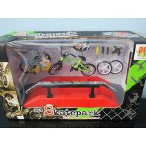 Pista Circuito Para Bicicleta De Dedo E Mini Skate