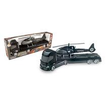 Caminhão De Brinquedo Trans Aero Blindado - Orange Toys