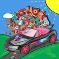 Carrinho Para Bonecas Miss Monster Roadster-roma Brinquedos