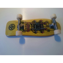 Tech Deck - Longboard Black Label - Skate De Dedo