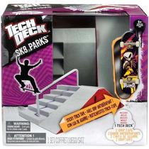 Tech Deck Rampa Sk8 Escada Extrema + 1 Skate De Dedo!