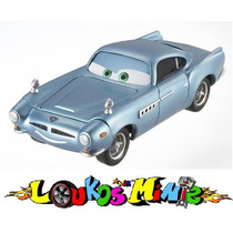 Disney Cars 2 Finn Mcmissile Com Som - Loose - Aprox. 9 Cm