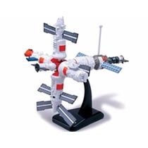 Miniatura De Estação Espacial Kit De Montar New Ray