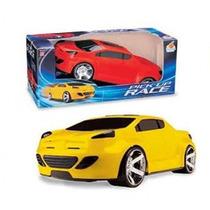 Carrinho Brinquedo Pick Up Race - Orange Toys