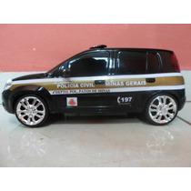 Miniatura Da Viatura Da Polícia Civil De Minas Gerais- Pcmg