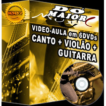 #aprenda Violao, Guitarra E Canto! Aulas Inici. Ao Avançado!
