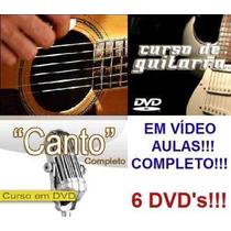 Guitarra+violão+canto - Em 6dvd