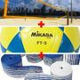 Kit Profissional Futevôlei Mikasa Ft5+rede Futevole 4 F+fita