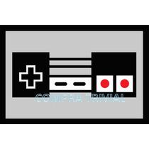 Tapete Capacho Controle Nintendo - Com Bordas Rebaixadas