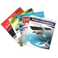 Atlas Do Estudante - 4 Volumes - Astronomia Quimica E Mais
