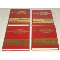 Grande Enciclopedia Geografica Mundial 4 Vol. Dulcidio Livro
