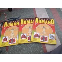 Livro Corpo Humano Edição Luxo - 3 Volumes Editora Ridfel