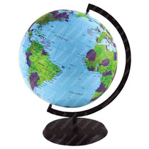Globo Terrestre Escolar Inflavel Planisferio Planeta Terra