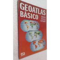Livro Geoatlas Básico - Maria Elena Simielli