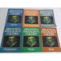 Coleção Biblioteca Educação É Cultura Mec Mme Bloch 6 Volume