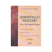 Livro Administração Financeira=masakazu Hoji=atlas Editora