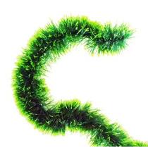 Festão De Natal 2 Metros Verde Metalizado Decoração De Natal