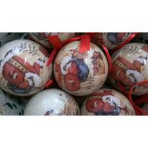 Bolas De Natal Enfeite Árvore Pendente Presépio 7 Peças
