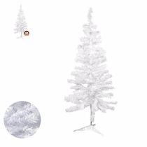2 Árvores De Natal Pinheiro Branco/nevado 1,20m Promoção!!!