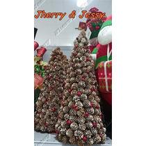 Árvore De Natal De Pinhas 30 Cm
