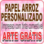 Papel Arroz Personalizado Com Temas - Fotobolo - Arte Grátis