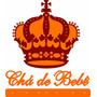 Conjunto Coroa+palavra Cha De Bebe Com Base E Mdf Cru De 3mm