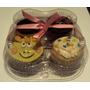 Embalagem Para 4 Cupcakes (15 Unidades)
