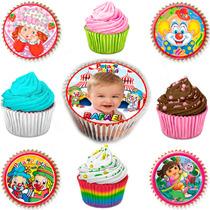 Papel Arroz Para Docinhos, Cupcake, Pão De Mel