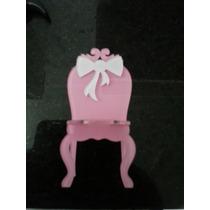 10 Mini Cadeira Em Acrilico, Miniatura Moveis, Cadeirinhas