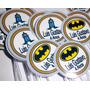 50 Toppers Batman - Totens, Enfeites,cupcakes,centro