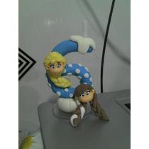 Vela Frozen Biscuit Elsa E Anna