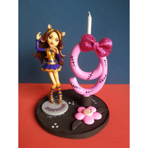 Vela Topo De Bolo Monster High - Enfeite