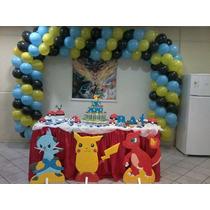 Kit Decoração De Festa Pokemon.