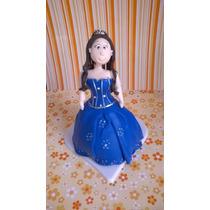 Debutante Azul Marinho/topo Bolo 15 Anos