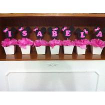 Nome Decorativo Minnie Rosa