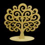 Árvore Festa Provençal Decoração Mesa De Festas Arabesco Mdf