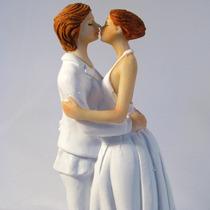 Noivinhos Topo Bolo Gay Casal Mulheres Topo Bolo Homossexual
