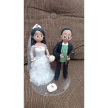 Bonecos De Biscuit,topos De Bolo,casamentos...