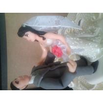 Noivinhos Topo De Bolo Casamento Bisquit Personalizado