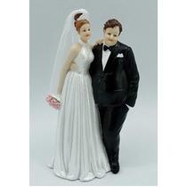 Casal Noivinhos Noivo Gordinho Para Festa Decore Casamento