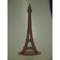 10 Torres Eiffel 45cm Mdf 3mm 2d Personalizada Aniversário