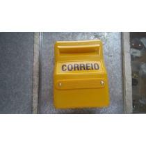 Caixa De Correio Plástica Amarela