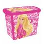 Caixa Organizadora Decorada Barbie 7.8 Litros