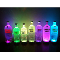 Base Led Para Garrafas - Absolut, Belvedere, Grey Goose