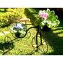 Bicicleta Decorativa Em Ferro