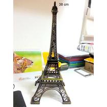 Enfeite De Decoração Torre Eiffel Paris 38cm