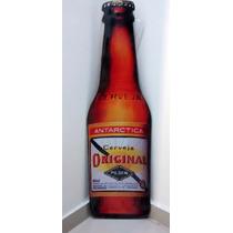 Placa Formato Garrafa Original Cerveja Mdf Decoração Bar