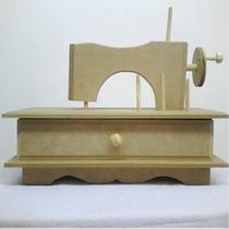 Máquina De Costura Mini Com Gaveta Em Mdf
